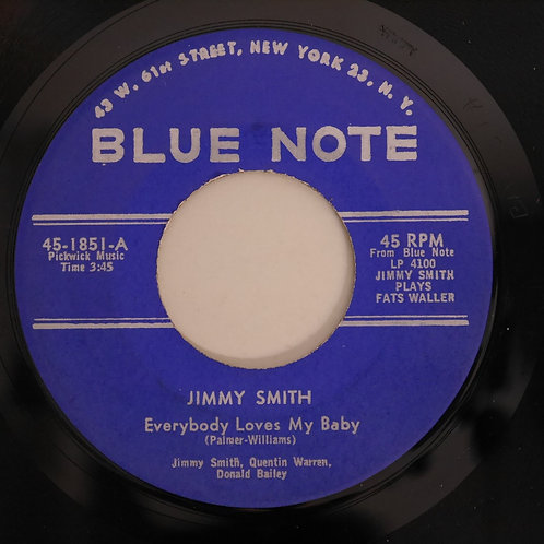 JIMMY SMITH / EVERYBODY LOVES MY BABY / AIN'TSHE SWEET