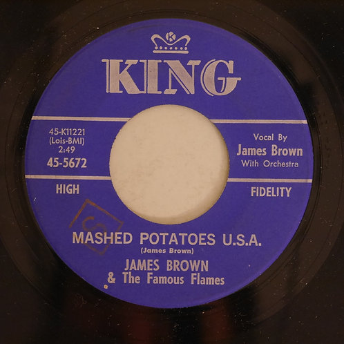 JAMES BROWN / MASHED POTATOES U.S.A. / YOU DON'T HAVE TO GO