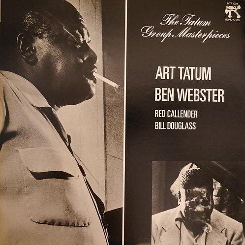 ART TATUM , BEN WEBSTER / THE TATUM GROUP MASTERPIECES