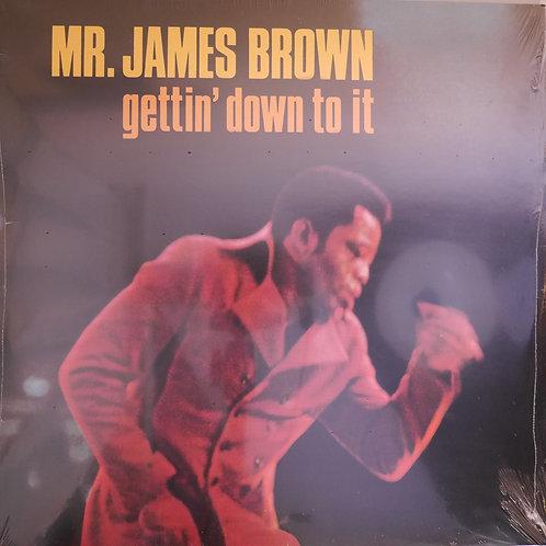 JAMES BROWN / gettin' down to it  新品/未開封