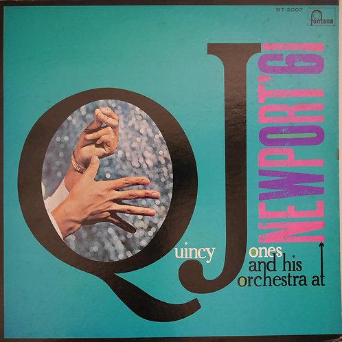 Quincy Jones & His Orchestra / Live At Newport 1961