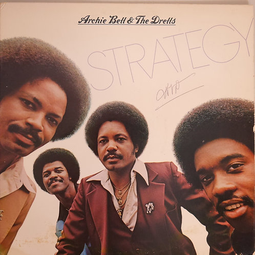 Archie Bell & The Drells / Strategy(プロモ・ゴールドスタンプ)