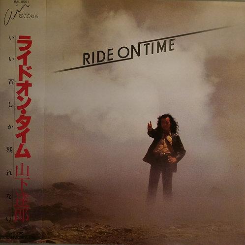 山下達郎 / RIDE ON TIME (マクセル・カバー帯付)