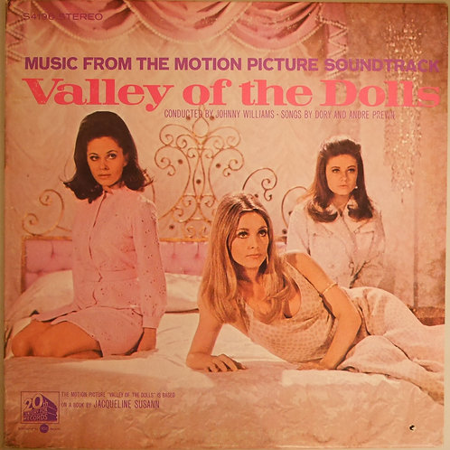 O.S.T. JOHNNY WILLIAMS / VALLEY OF THE DOLLS ,哀愁の花びら