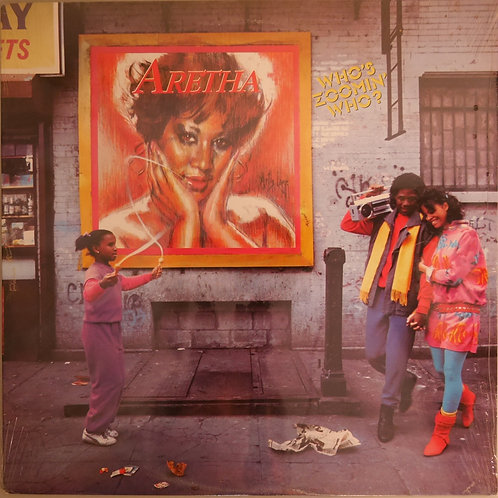 ARETHA FRANKLIN /Who's Zoomin' Who?(未開封)