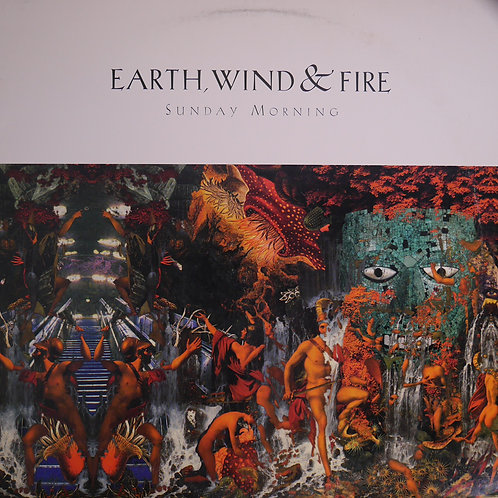 "EARTH, WIND & FIRE  /12""プロモ盤        /SUNDAY MORNING"
