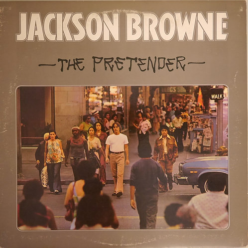 JACKSON BROWN / The Pretender (US 7E規格CSMプレス)