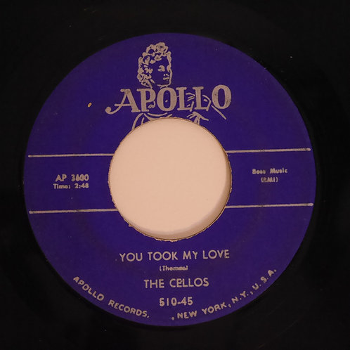 THE CELLOS / RANG TANG DING DONG / YOU TOOK MY LOVE