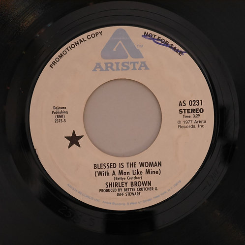 SHIRLEY BROWN /Blessed Is The Woman   STEREO / MONO