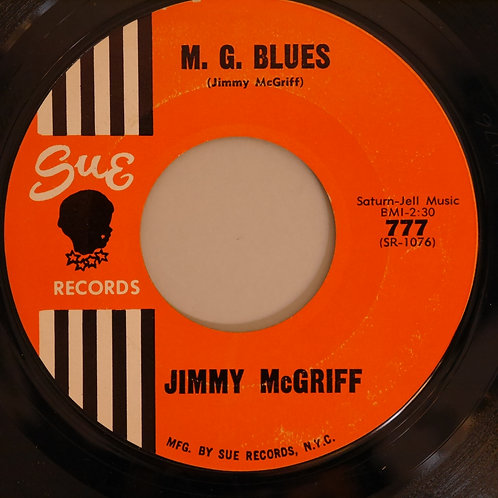 JIMMY MCGRIFF / ALL ABOUT MY GIRL / M.G.BLUES