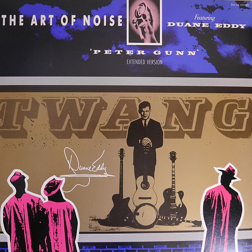 "THE ART OF NOISE / PETER GUNN  12"" 美品。"