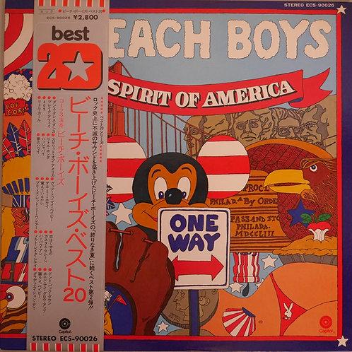 BEACH BOYS / ベスト20 / spirit of america  帯付き 美品