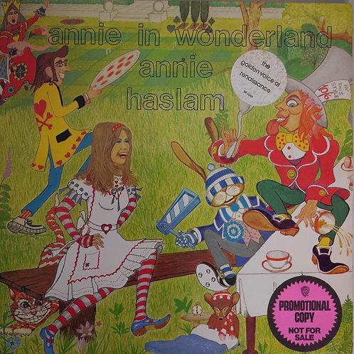 ANNIE HASLAM / Annie In Wonderland(プロモ)