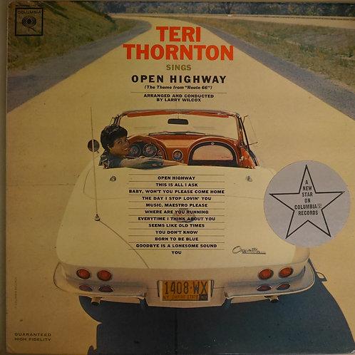 Teri Thornton Sings Open Highway