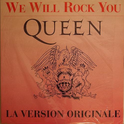 "QUEEN / We Will Rock You(12""仏限定)"