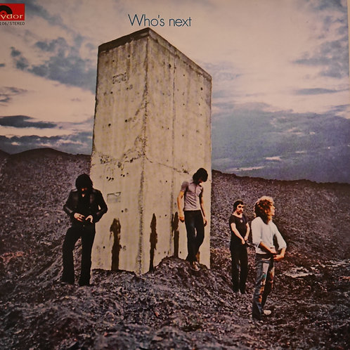 THE WHO / WHO'S NEXT    ( 日本盤・美品)