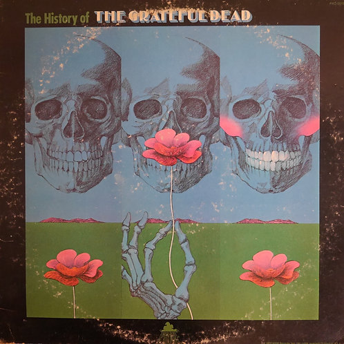 GRATEFUL DEAD / The History Of The Grateful Dead(プロモ白ラベル)