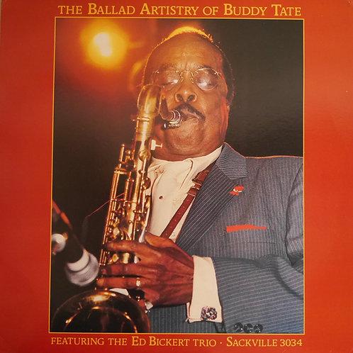 Buddy Tate Featuring The Ed Bickert Trio / The Ballad Artistry of Buddy Tate