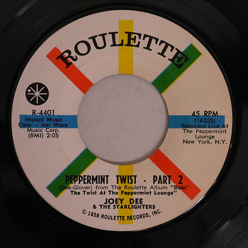 JOEY DEE & THE STARLIGHTERS / HEY, LET'S TWIST / ROLY POLY