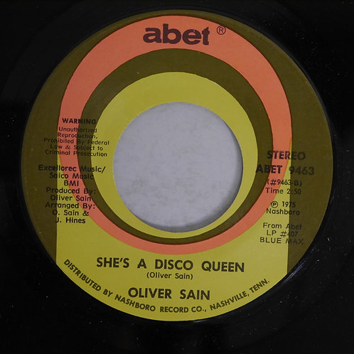 OLIVER SAIN / PARTY HEARTY / SHE'S A DISCO QUEEN