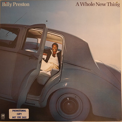 BILLY PRESTON / A WHOLE NEW THING (PROMO白ラベル)