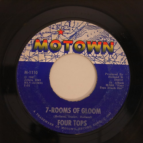 THE FOUR TOPS /7-ROOMS OF GLOOM / I'LL TURN TO STONE
