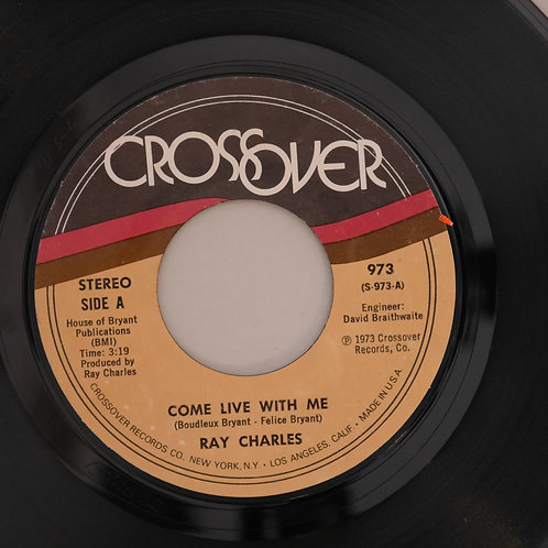 RAY CHARLES /Come Live With Me / Everybody Sing