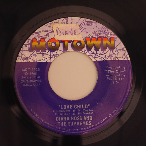 Diana Ross & The Supremes / Love Child / Will This Be The Day 指揮者/演奏者