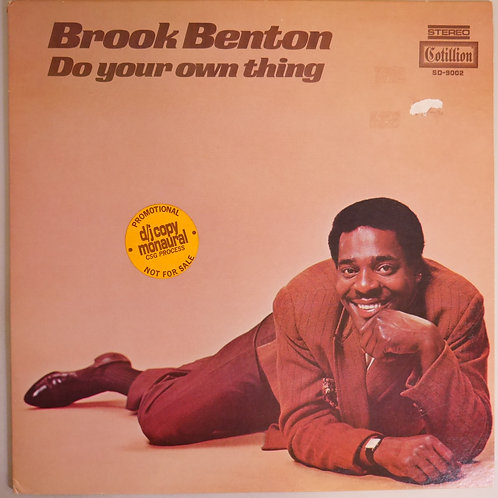 Brook Benton / Do Your Own Thing (白プロモ)