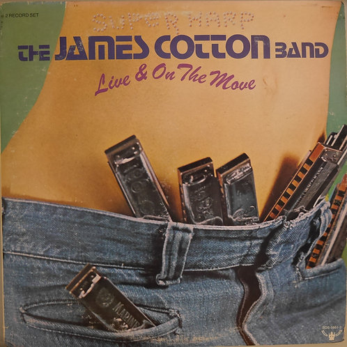 JAMES COTTON BAND /LIVE & ON THE MOVE (2枚組)