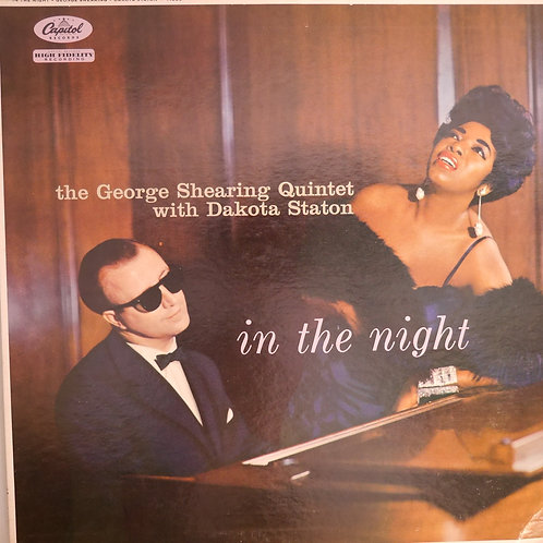 GEORGE SHEARING / DAKOTA STATON :IN THE NIGHT