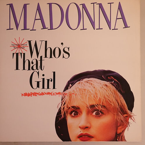 "MADONNA / Who's That Girl (12"")"