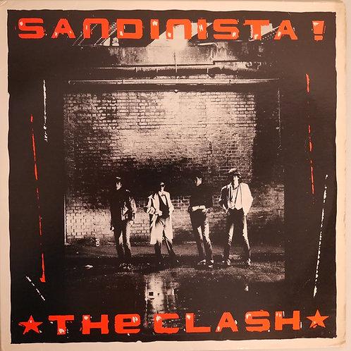 THE CLASH / SANDINISTA ! (3LP)STERLING刻印