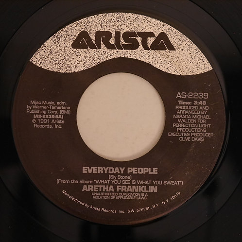 ARETHA FRANKLIN / Everyday People(7')