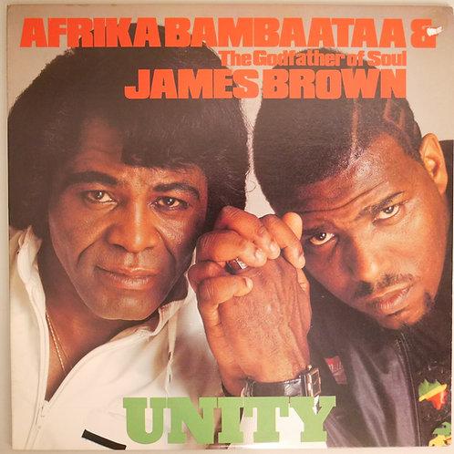 AFRIKA BAMBAATAA & JAMES BROWN  /UNITY