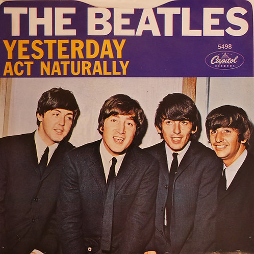 THE BEATLES / Yesterday / Act Naturally