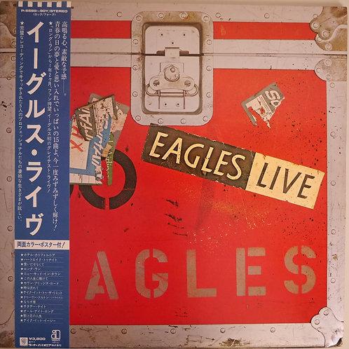 EAGLES /ライブ(2LP、帯、ポスター)