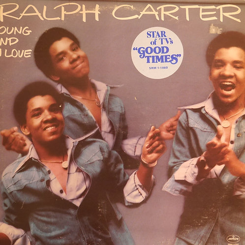Ralph Carter / Young And In Love(PROMOコピー)