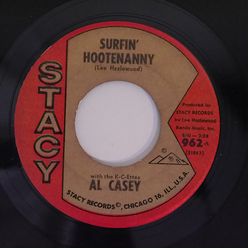 Al Casey With The K-C-Ettes /SURFIN' HOOTENANNY / EASY PICKIN