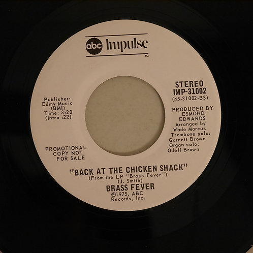 Brass Fever / Lady Marmalade / Back At The Chicken Shack