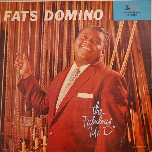 "FATS DOMINO / THE FABULOUS ""MR.D""    58年 USオリジナル MONO"