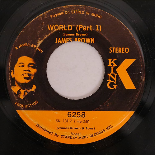 JAMES BROWN / WORLD    P1&2