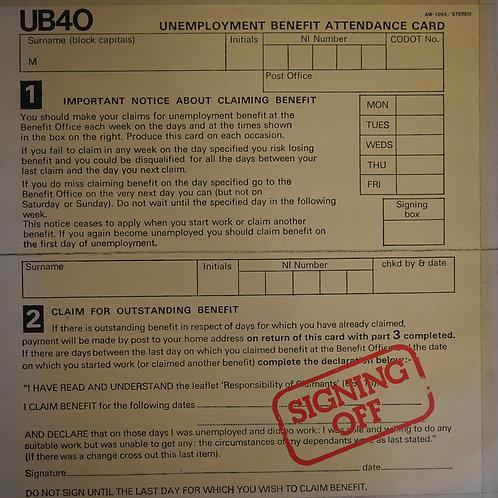UB40 / SIGNING OFF