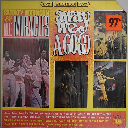 Smokey Robinson & The Miracles / Away We A Go-Go(両溝)