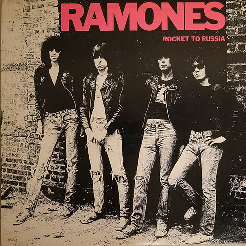 RAMONES / Rocket To Russia(Wなし。STERLING刻印)