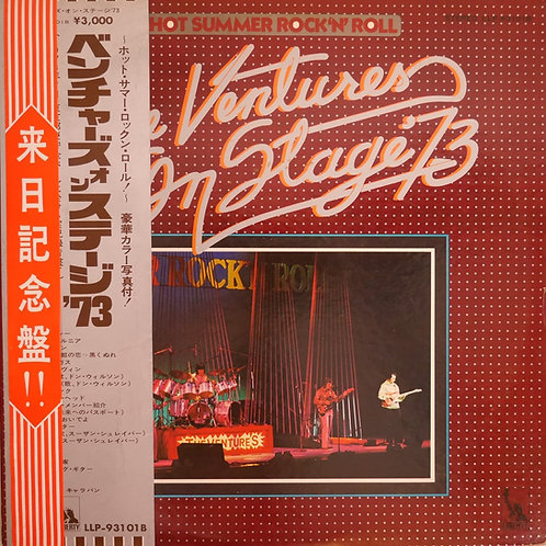 THE VENTURES / ベンチャーズ・オン・ステージ '73(サイン色紙付き)