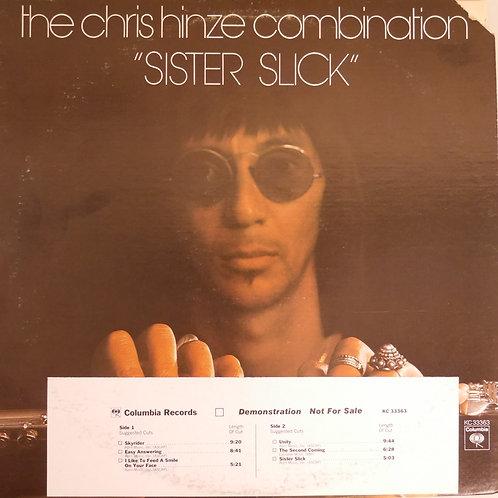 CHRIS HINZE COMBINATION / SISTER SLICK (プロモ白ラベル)