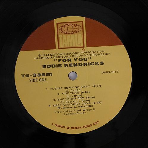 EDDIE KENDRICKS  /FOR YOU    TAMLA/MOTOWN