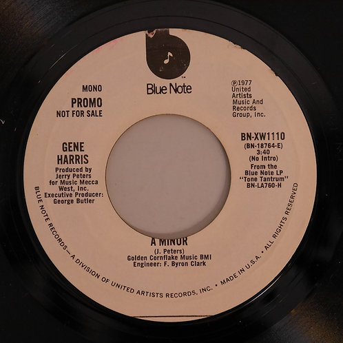 Gene Harris / A Minor(USプロモ・コピー)