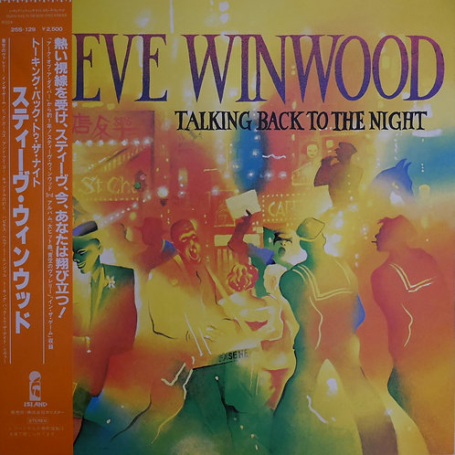 STEVE WINWOOD /Talking Back To The Night